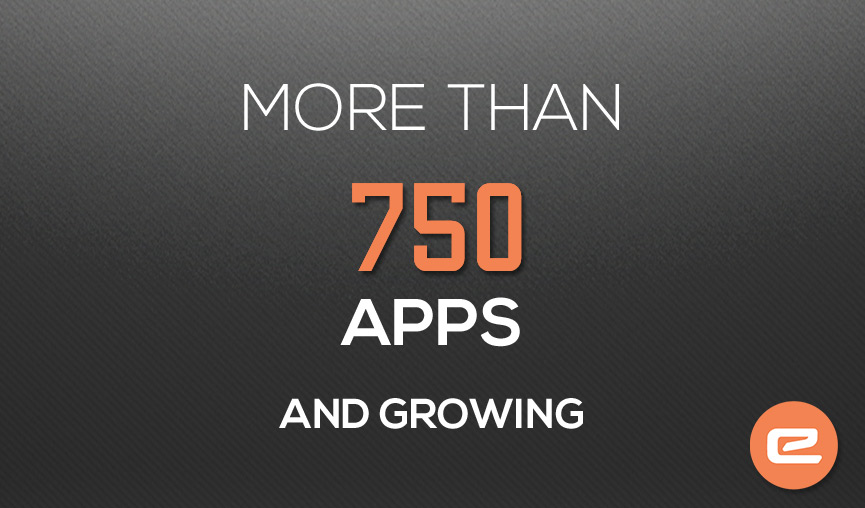 750 apps