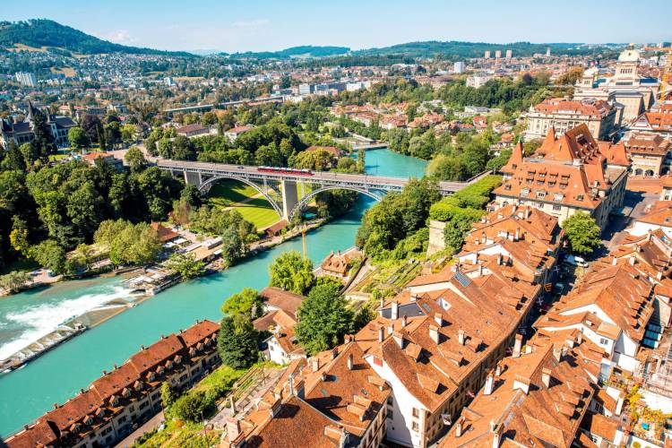Amazing Bern Old Town View