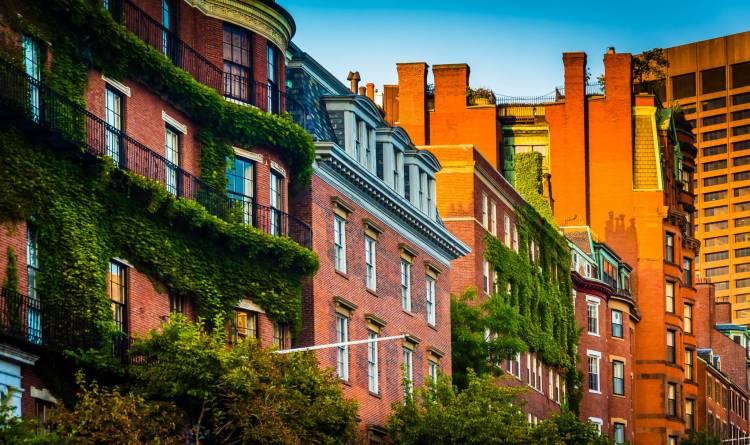 Beautiful Boston neighborhood, Beacon Hill