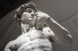 The marvelous David in Florence