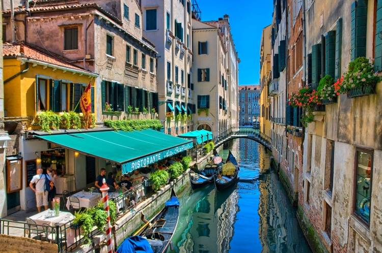 Venice Restaurantes by the canal
